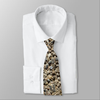 Photo de gravier et de sable cravates