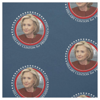 Photo de Hillary Clinton - vitesse de 2016 Tissu
