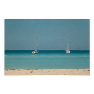Photo de la Floride d'Oceanside de bateaux à voile Affiches