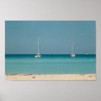 Photo de la Floride d'Oceanside de bateaux à voile Posters