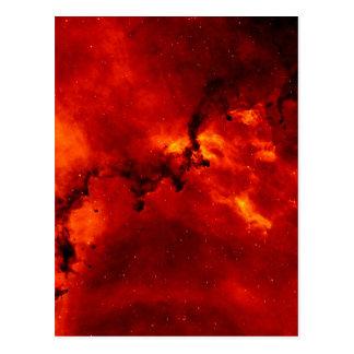 Photo de nébuleuse de rosette cartes postales