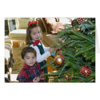 Photo de Noël Carte De Vœux