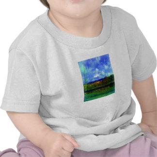 Photo de peinture de nature de route t-shirt