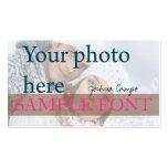 Photo de PixDezines do-it-yourself+polices Cartes De Visite Professionnelles
