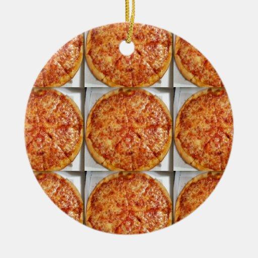 Photo de pizza décorations pour sapins de noël