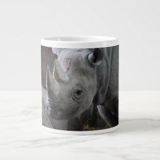 Photo de rhinocéros noir mug jumbo
