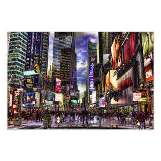 Photo de Times Square dans HDR