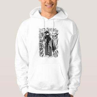 Photo de typographie de joker du peloton | de veste à capuche