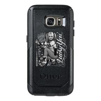 Photo de typographie du peloton | Harley Quinn de Coque OtterBox Samsung Galaxy S7