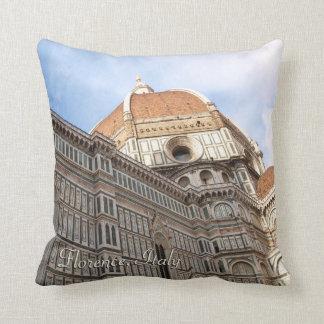 Photo de vacances de Duomo de Florence Italie Coussin