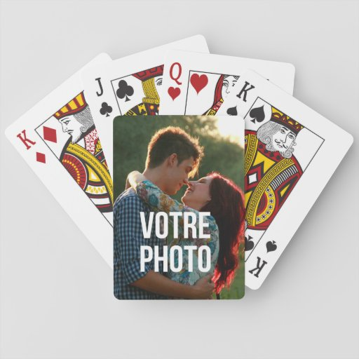 Photo de votre d'avec de l'ONU jeu de cartes