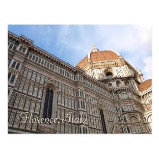 Photo de voyage de Duomo de Florence Italie Carte Postale