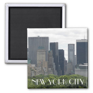 Photo de voyage de New York City Magnet Carré