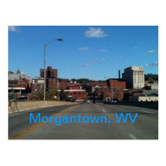 Photo des cartes postales d'horizon de Morgantown