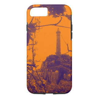 Photo d'orange de phare la plus ancienne du coque iPhone 7
