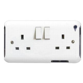 Photo drôle de débouché électrique BRITANNIQUE sur Étui Barely There iPod