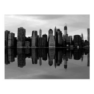 Photo du paysage d'horizon de New York City Cartes Postales