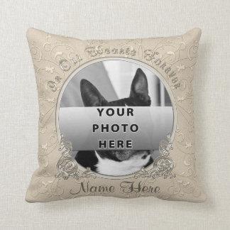 Photo et idées personnalisées de cadeau de oreillers