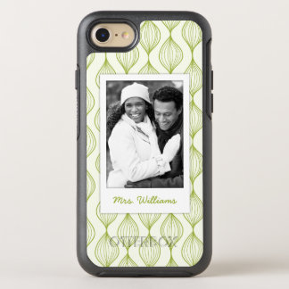 Photo et motif vert d'Ogee de nom Coque Otterbox Symmetry Pour iPhone 7