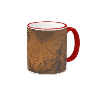 Photo extérieure de planète de Mars Mug Ringer