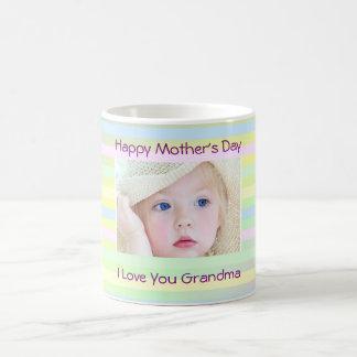 Photo faite sur commande de grand-maman du jour de mug blanc