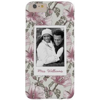 Photo faite sur commande et motif de fleurs rose coque iPhone 6 plus barely there
