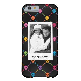Photo faite sur commande et motif multicolore coque iPhone 6 barely there