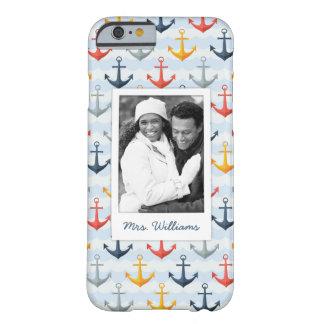 Photo faite sur commande et motif nautique nommé coque iPhone 6 barely there