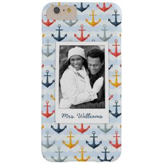 Photo faite sur commande et motif nautique nommé coque iPhone 6 plus barely there