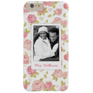 Photo faite sur commande et roses roses élégants coque iPhone 6 plus barely there