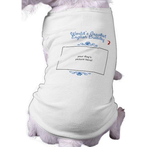 Photo faite sur commande ! Le plus grand bouledogu Vêtements Pour Animaux Domestiques