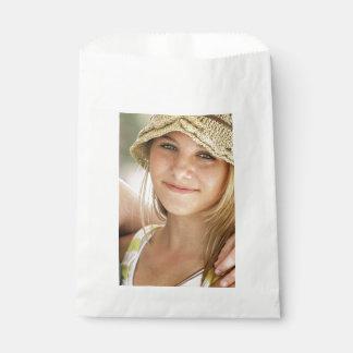 Photo faite sur commande sachets en papier