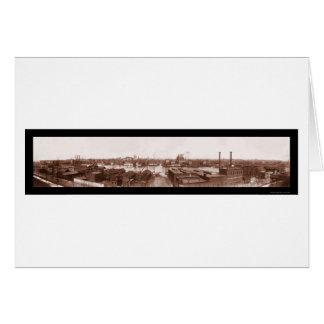 Photo fédérale 1903 de colline de Baltimore Carte De Vœux