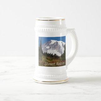 Photo majestueuse du mont Rainier Chope À Bière
