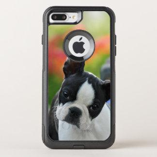 Photo mignonne d'animal familier de chiot de chien coque OtterBox commuter iPhone 8 plus/7 plus