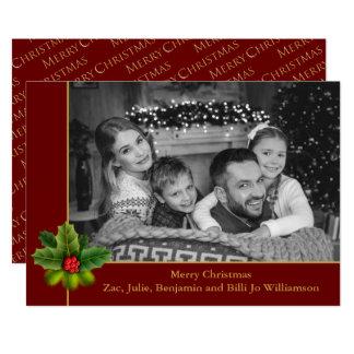 Photo noire et blanche automatique avec la photo carton d'invitation  12,7 cm x 17,78 cm