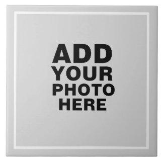photo ou graphiques faits sur commande grand carreau carré