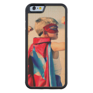 Photo personnalisable coque iPhone 6 bumper en érable