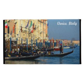 Photo personnalisable des gondoles de Venise, Étui iPad Folio
