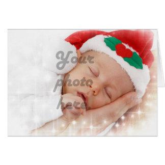 Photo personnalisée cartes de vœux