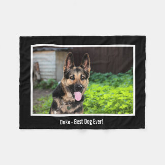Photo personnalisée de chien de berger allemand,