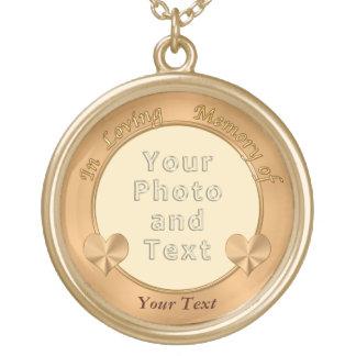 Photo personnalisée en collier affectueux de