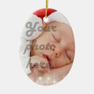 Photo personnalisée décorations de noël