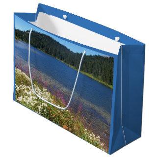Photo pittoresque de lac grand sac cadeau