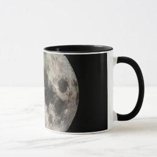 Photo renversante de la lune mug