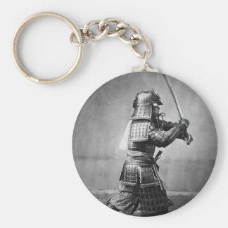 Photo samouraï classique porte-clefs