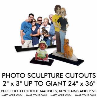 """Photo Sculpture La coutume a personnalisé 2"""" x 3"""" sculpture en"""