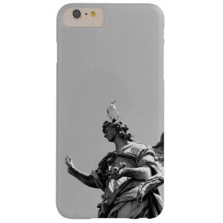 Photo simple et moderne de mouette sur la statue coque iPhone 6 plus barely there