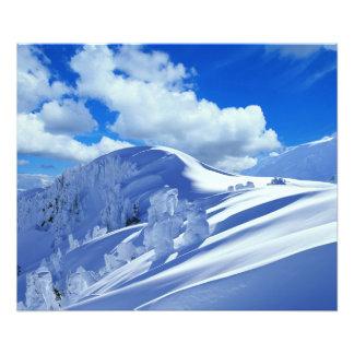 Photo sommet de la montagne
