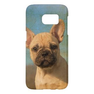 Photo vintage Phonecase de chiot mignon de Coque Samsung Galaxy S7